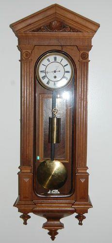 # 1 weight regulator clock made in Veinna