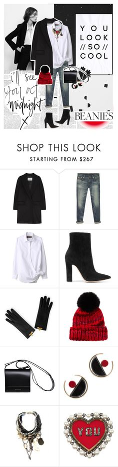 """""""If I keep my eyes closed, he feels just like you. ♥"""" by sssdmr ❤ liked on Polyvore featuring Boodles, MaxMara, R13, Gianvito Rossi, Eugenia Kim, DESA, Marni, Jolita Jewellery and Lanvin"""