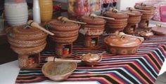 Centro de mesa mexicano party ideas pinterest for Decoracion de jardin con ollas de barro