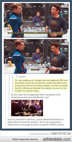 That is why RDJ is awesome, among other reasons...