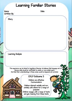 Home :: Printables / Blackline Masters :: Assessing Children's Literacy Learning (Pre-Prep) Literacy Skills, Early Literacy, Eylf Learning Outcomes, Learning Stories Examples, Early Years Teacher, Family Day Care, Nursery Activities, Preschool Classroom, Kindergarten