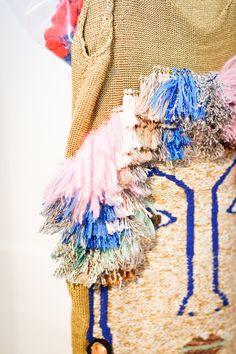 Kris Atomic | London Fashion Week | Leutton Postle | collection - Leutton Postle