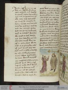 Cod. Pal. germ. 60: Historienbibel ; Irmhart Öser ; 'Brandans Reise' u.a. (Südwestdeutschland, um 1460), Fol 77v