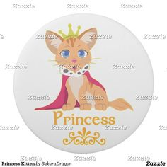 Princess Kitten Eraser #cats #pets #animals #princess #tabby