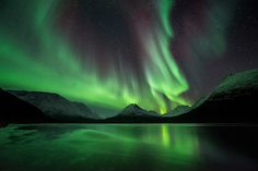 Skyfire   Arctic Light Photo Ole C. Salomonsen Photography