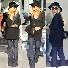 Celebrity fashion stylist, Rachel Zoe, out shopping with friends on Melrose near Robertson Boulevard, Los Angeles, California on January 22, 2011
