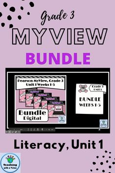 Bundle is for MyView Literacy, Grade 3, Unit 1 Weeks 1-5. Focuses on Vocabulary, Word Study & Conventions. In Google Slides & can be assigned in Google Classroom. Students build an Animal. In each question there is a choice between one of three answers. Students get immediate feedback - If the answer is correct they get to add a body part to their animal. If incorrect, they are referred back to the original slide to answer again. Use as a digital formative assessment or a literacy center… Reading Comprehension For Kids, Digital Literacy, Formative Assessment, Word Study, Google Classroom, Grade 3, Literacy Centers, Vocabulary, The Unit