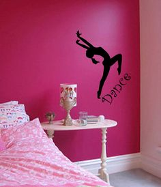 Dance Bedroom Stickers Wall Art Wall Decor/Sticker by StickEase, $26.99