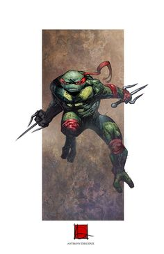 Raphael - TMNT - Anthony Diecidue