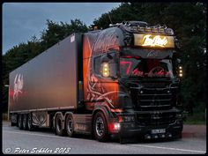SCANIA R560 - TSU Jens Bode - Ghost Rider - D