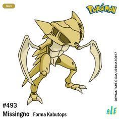 Missingno forma Kabutops by on DeviantArt Pokemon Regions, Oc Pokemon, Pokemon Red Blue, Pokemon Birthday, Fanart, Tmnt, Pikachu, Gallery, Kumamon