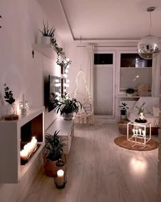 Upgrade your home. Fairy lights not only look super atmospheric on the – austin_evidea Upgrade your home. Fairy lights not only look super atmospheric on the Upgrade your home. Fairy lights not only look super atmospheric on the … Living Room Candles, Living Room Lighting, Living Room Decor, Casa Hygge, Apartment Decoration, Bohemian Furniture, Budget Home Decorating, Decorating Ideas, Tumblr Rooms