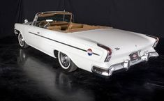 1962 Chrysler 300H Convertible. That is one big trunk!