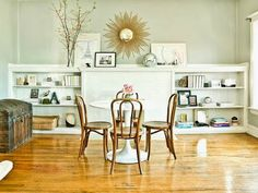 Great idea, put your dining room to work!