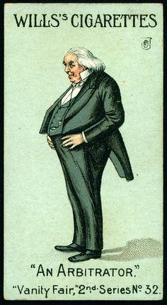 "Cigarette Card - Sir F.J.Bramwell. ""Vanity Fair 2nd Series""."