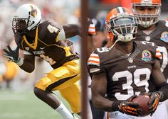 Tashaun Gipson Then: #4 Cornerback for the Wyoming Cowboys Now: Defensive Back #39 for the Cleveland Browns