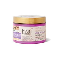 shop for Heal & Hydrate Shea Butter Hair Mask from Maui Moisture at Sally Beauty. Use as a leave in treatment on wet hair to deeply condition strands. Hair Mask For Damaged Hair, Best Hair Mask, Diy Hair Mask, Hair Masks, Dry Hair, Hair Removal Scrub, Maui Moisture, Deep Conditioner For Natural Hair, Thin Curly Hair