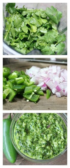 Cooking Tutorial: step by step directions to make Spicy Cilantro Pesto | 5DollarDinners.com