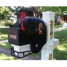 Cincinnati Bearcats Helmet Style Mailbox