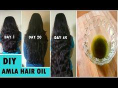 Grandma's SECRET Recipe to grow Long hair fast naturally Amla Hair Oil - YouTube