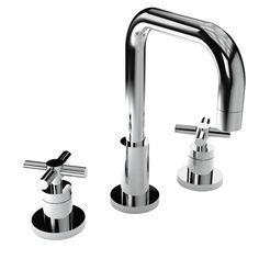 BATH FAUCETS - East Square - Widespread Lavatory Faucet - 1400 - || Newport Brass