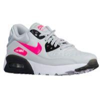 56ac8b5162 black and pink nike air max Air Max 90 Ultra - Girls' Grade School - Running  - Shoes - White/Hyper