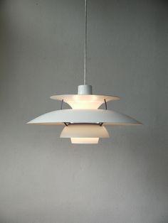 LOUIS POULSEN PH 5 danish modern design lamp DÄNEMARK 70er eames jacobsen era