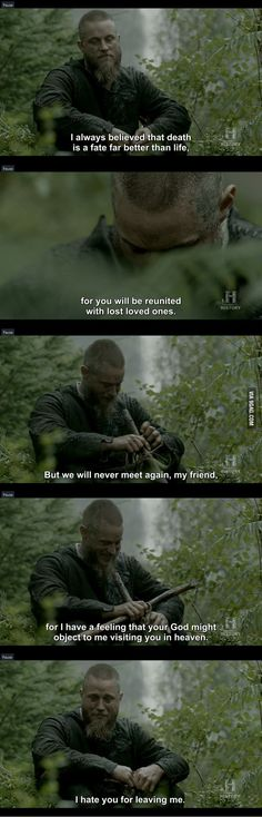 Finished Vikings S3, must not cry!