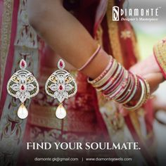 This wedding season, meet your match. Explore our unique diamond & jewellery collection. Call us at +91 98100 22551 | Mail us at diamonte.gk@gmail.com or log on to www.diamontejewels.com. #Diamonte #DiamondJewelry #EthnicJewelry #RoyalJewelry #girlsbestfriend #diamond #jewellery #lookgood #diamondsareforever #Weddingjewelry #weddingseason