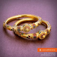 #Classy #beautiful #gold #bangles from our #jewellery collection.