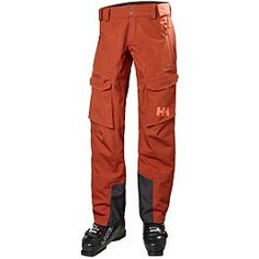 Women's Aurora shell pants have a tailored relaxed freeride cut built with HELLY TECH® Snowboard Pants, Ski Pants, Pool Party Kids, Outdoor Apparel, Pants For Women, Clothes For Women, Outdoor Wear, Helly Hansen, Aurora