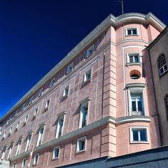 Cuentos de princesas | Tales of princesses  Fachada posterior del edificio del Senado Madrid #photography