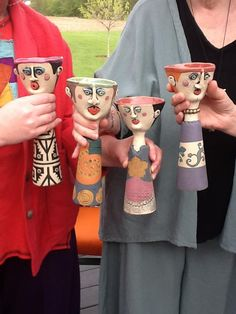 New! BY Kimberly Rorick of Painterly Pots! Cheers!