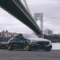 Took one of @cbrmedia's shots of @jay__slay's wet C63s and sprinkled a little bit of my special salt