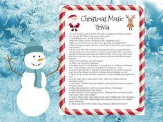 Christmas Song Trivia, Christmas Trivia Questions, Fun Christmas Party Games, Christmas Tunes, Christmas Lyrics, A Christmas Story, Christmas Movies, Holiday Parties, Xmas Games