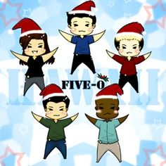 Hawaii Five-0 Christmas by H50ThaiFan
