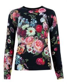 Oil painting print jumper - EDRYSS by Ted Baker I don't know if I would wear this, but I had to pin it...