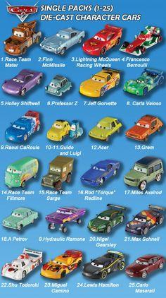 JOHN 1:55 diecast toys Pixar DISNEY CARS Paris Tour 2 pack NANCY NEW!