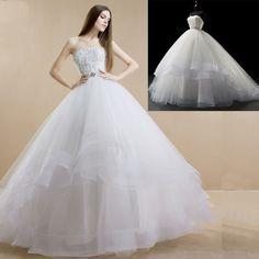 ASDRESS Romantic wedding tulle wedding dress sweetheart wedding dress