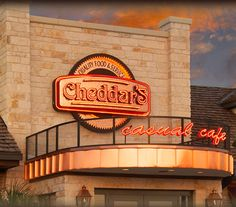 Cheddar's  #PigeonForge
