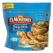 El Monterey Coupons 2013 + Walmart Deal Scenario We have a nice new El Monterey printable coupon for you this morning! This coupon is good for the El Monterey Taquitos products, which we love having ...