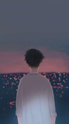 Boy In City Anime Iphone Wallpaper Free – GetintoPik Cute Couple Wallpaper, Boys Wallpaper, Cartoon Wallpaper, Cute Couple Art, Anime Love Couple, Cute Anime Couples, Anime Scenery, Aesthetic Anime, Anime Art Girl
