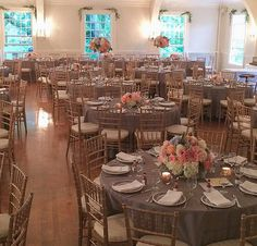 Our Chairs and Linens in this wedding by The Invisible Hostess, Seattle