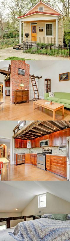 #tumbleweed #tinyhouses #tinyhome #tinyhouseplans Awesome layout for a tiny home.