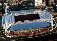 The Millennium Stadium, Cardiff, South Wales. Visit Cardiff, Cardiff Wales, Soccer Stadium, Football Stadiums, Fa Community Shield, Middlesbrough Fc, Millennium Stadium, Visit Wales, National Stadium