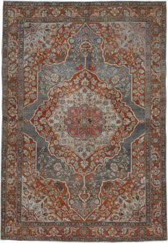Antique Tabriz Rug, No. Home Carpet, Rugs On Carpet, Persian Carpet, Persian Rug, Iranian Rugs, Tabriz Rug, Floor Rugs, Vintage Rugs, Designer Rugs