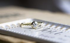bespoke engagement ring by Michaela Roemer #engagementring