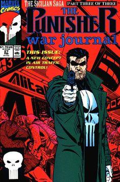 Punisher War Journal # 27 by Michael Golden