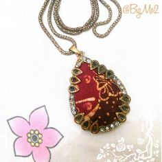 Necklace - handmade - Batik tulis Madura