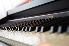 Throwing in a picture of my beloved 25 year old, second hand Roland piano